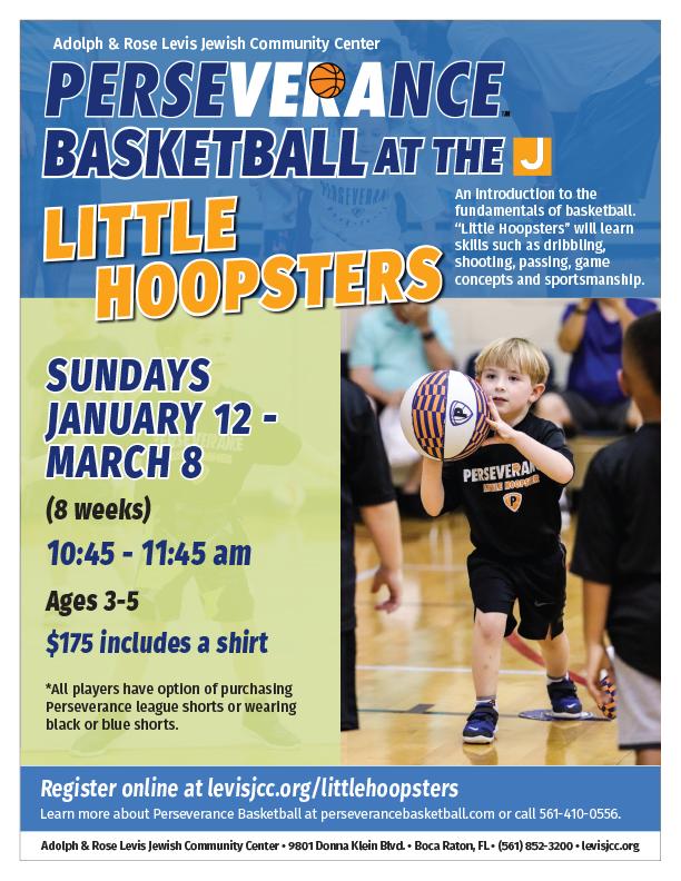 070279245 Perseverance Little Hoopsters Winter Flyer 2020 Rev2