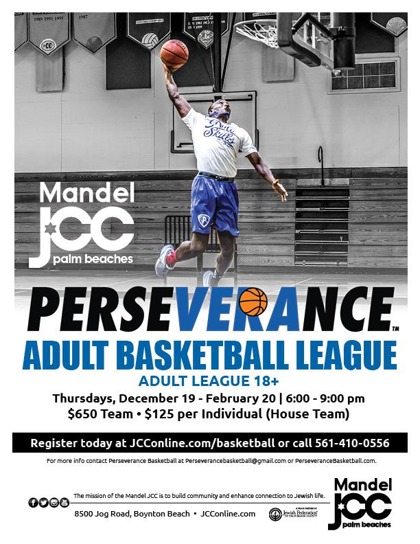 BB_Perseverance Adult Men Basketball Spring Flyer 11-2019